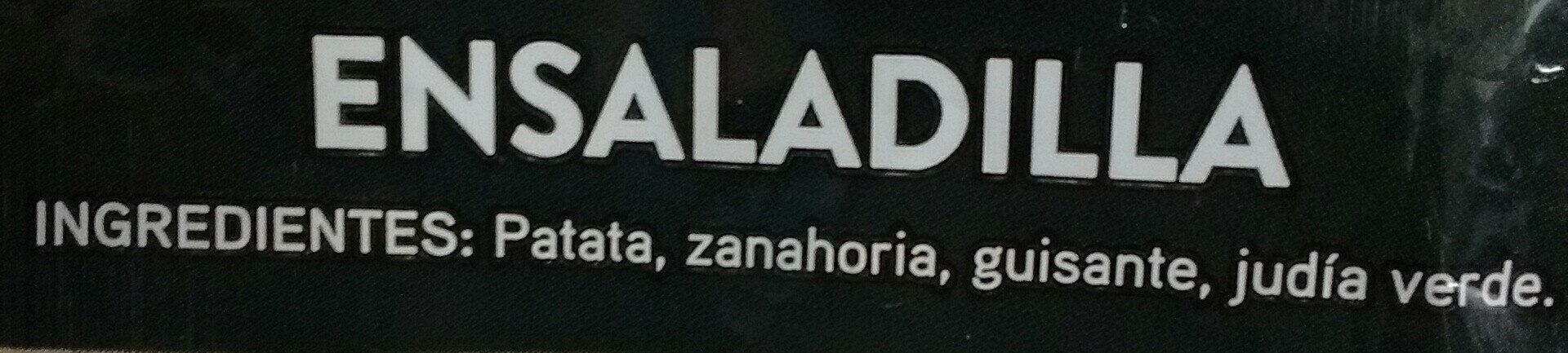 Ensaladilla - Ingrédients - es