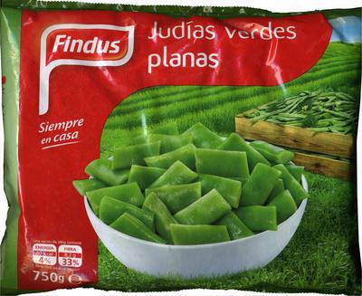 """Judías verdes planas troceadas congeladas """"Findus"""""""