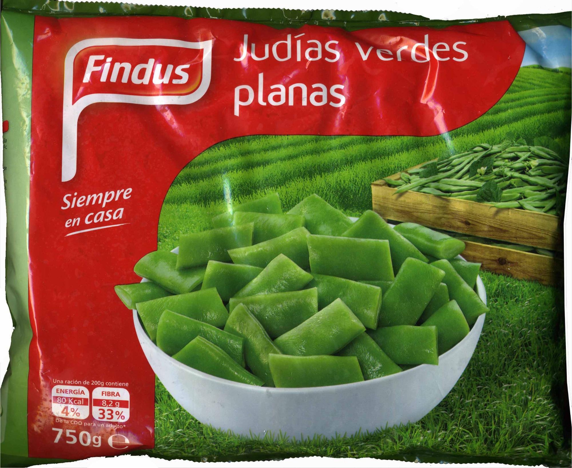 """Judías verdes planas troceadas congeladas """"Findus"""" - Product"""