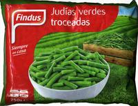 """Judías verdes redondas troceadas congeladas """"Findus"""" - Producto - es"""