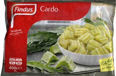 """Cardo congelado """"Findus"""" - Producte"""