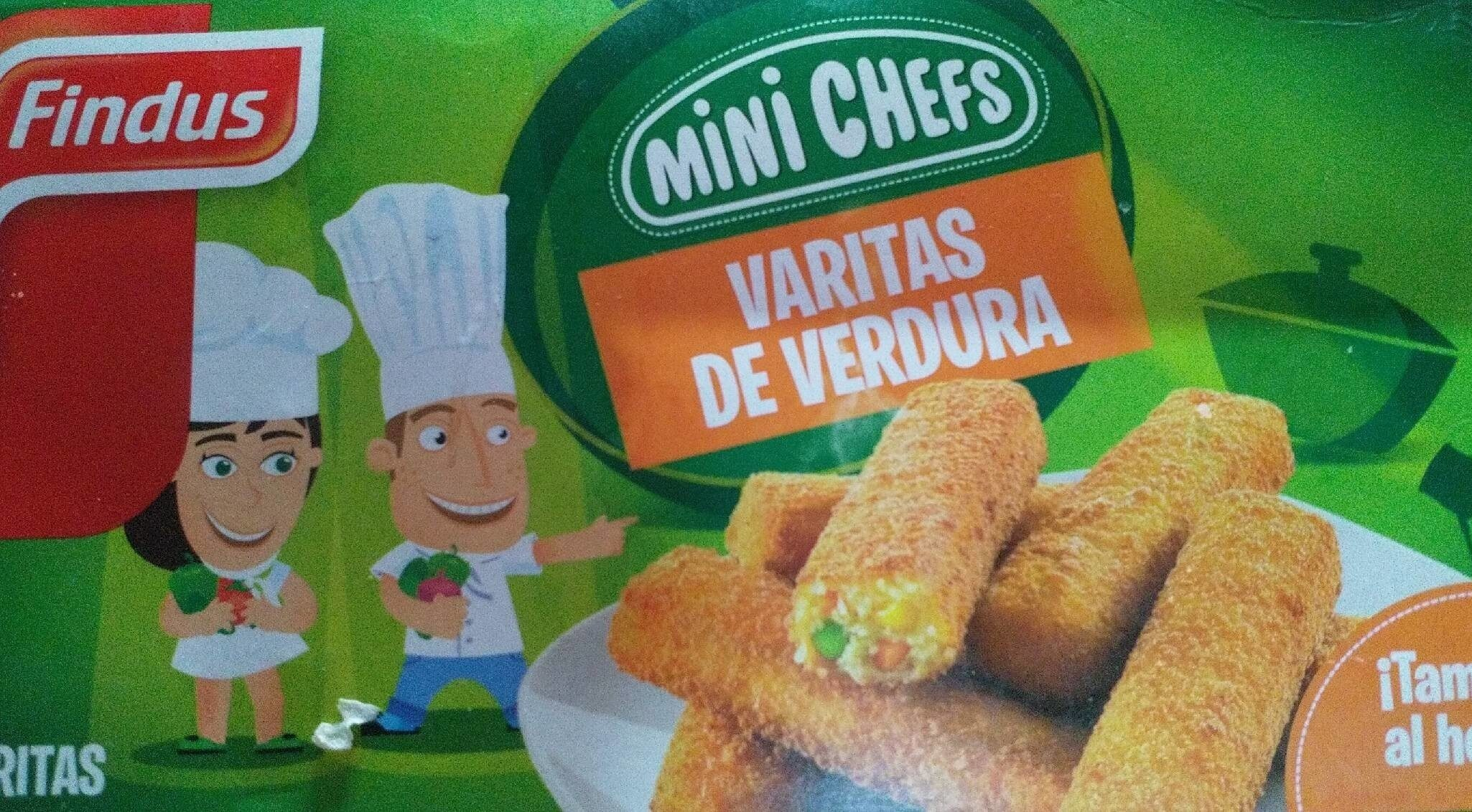Varitas de verdura - Produit - es