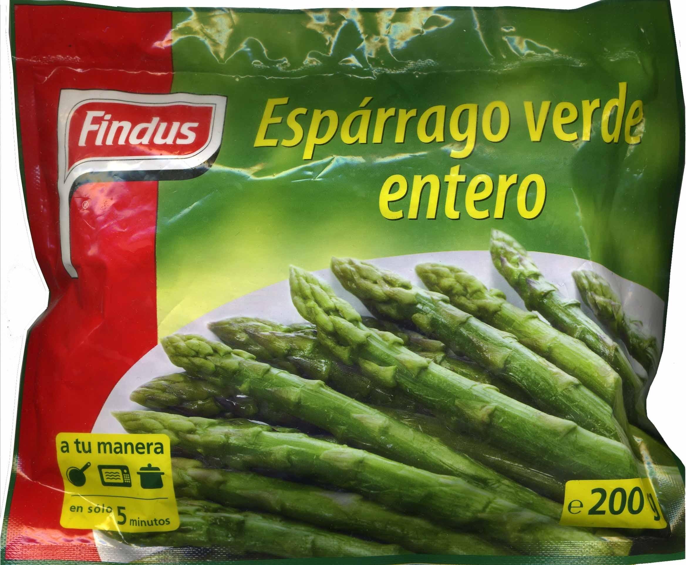 """Espárragos verdes congelados """"Findus"""" - Producto - es"""