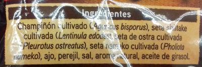 setas con ajo y perejil - Ingredientes - es