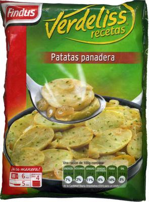 Patatas panadera congeladas - Producto
