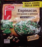 Espinacas con pansas y piñones - Product