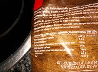 patatas & snacks - Voedingswaarden - es