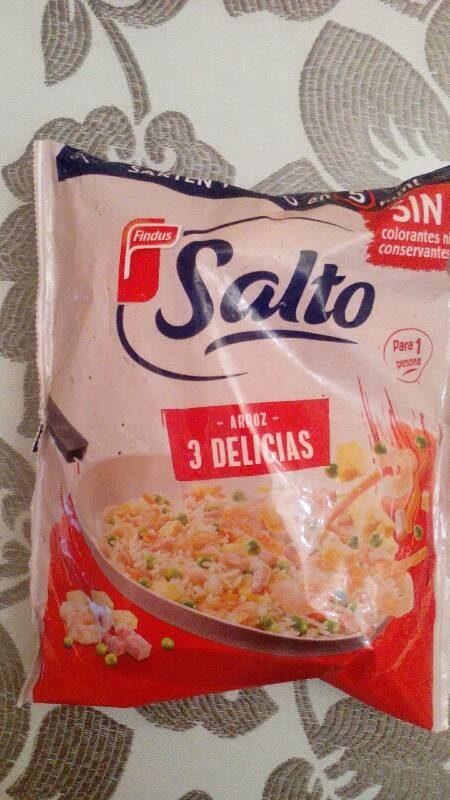 Salto arroz 3 delicias - Producte