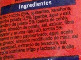 Salto arroz 3 delicias - Ingredients