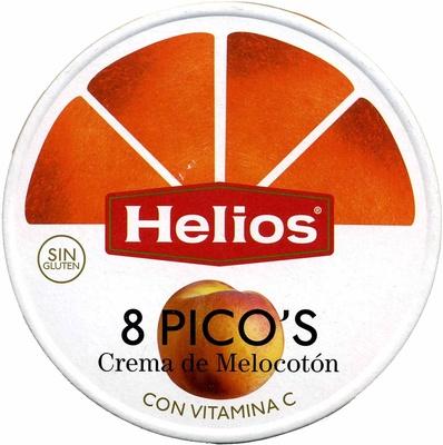 Picos de crema de melocotón - Producto