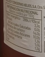 Tomate Frito - Voedingswaarden - es
