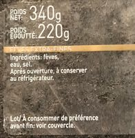 Habas extrafinas - Ingrédients - fr