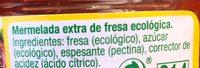 Mermelada extra de fresa - Ingrediënten