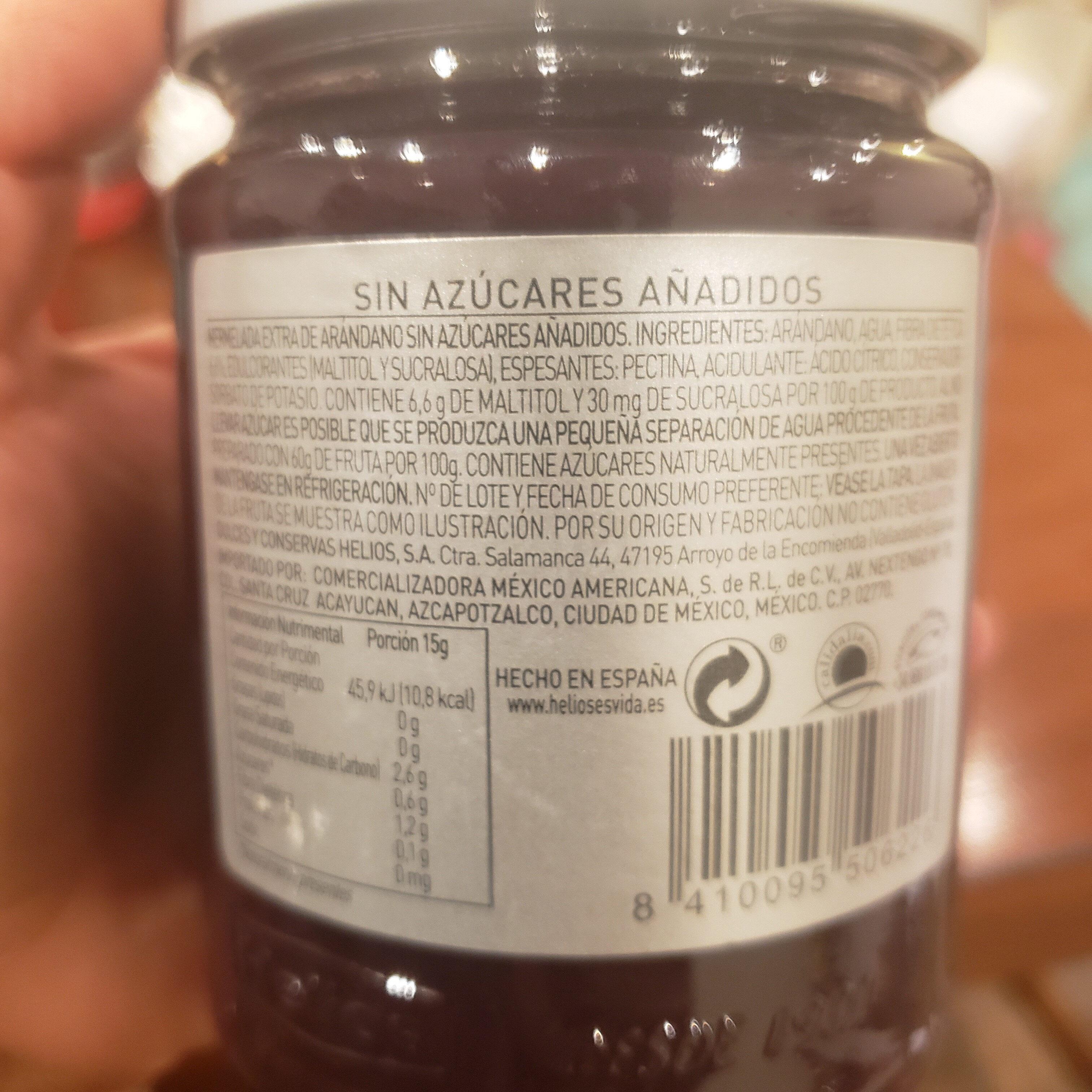 diet mermelada - Ingredientes - es