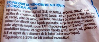 La Bella Easo Weikis Chocolate Con Leche 6 Uds. - Ingrédients - fr
