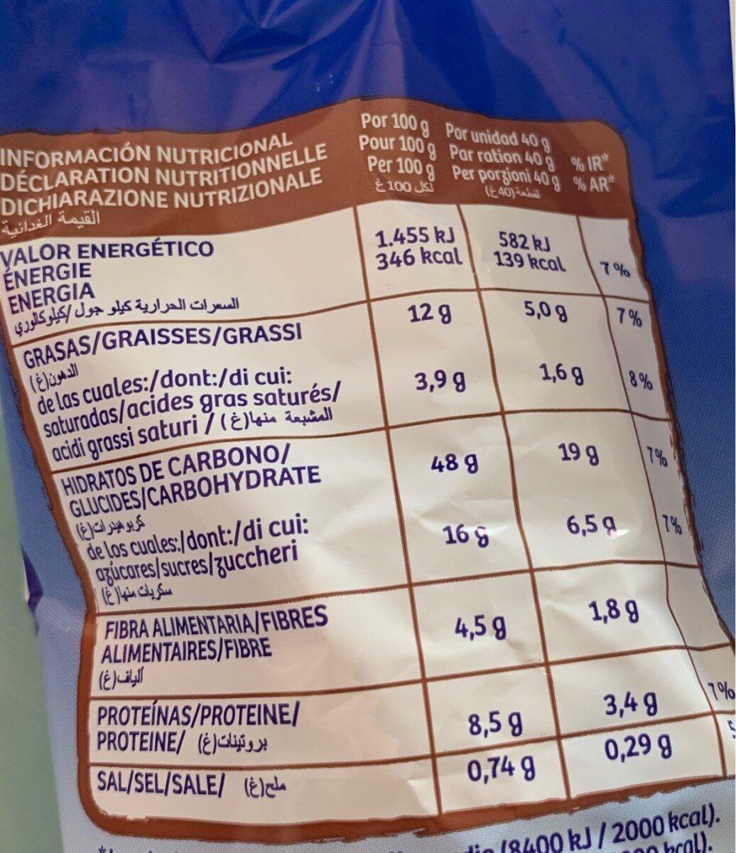 La Bella Easo Weikis Chocolate Con Leche 6 Uds. - Informations nutritionnelles - fr