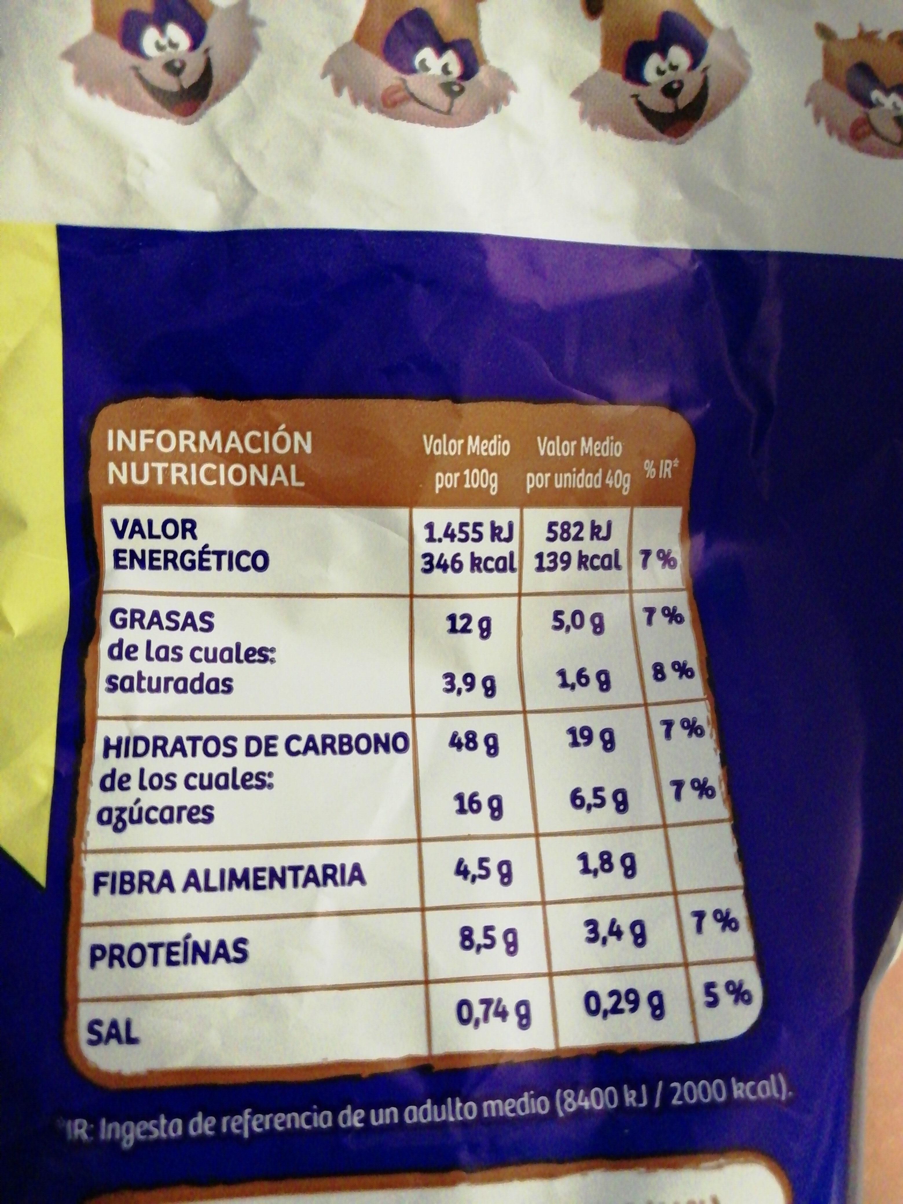 Weikis - Información nutricional - es