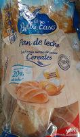 La Bellacaso Pan De Leche Cereales175g - Producte