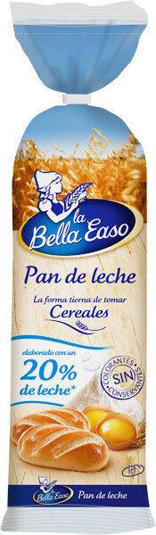 Pan de leche elaborado con un de leche - Product - fr
