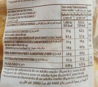 Pan de leche elaborado con un de leche - Voedingswaarden - fr