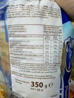 Pan de leche elaborado con un de leche - Nutrition facts - fr