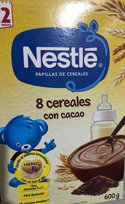 8 cereales con cacao - Producto