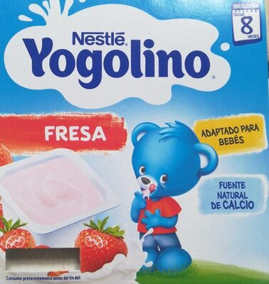 Postre lácteo de fresa sin gluten desde meses - Product - es