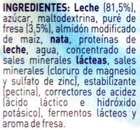 Iogolino fresa - Ingredients - es