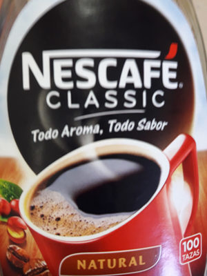 Nescafé Classic - Información nutricional - es
