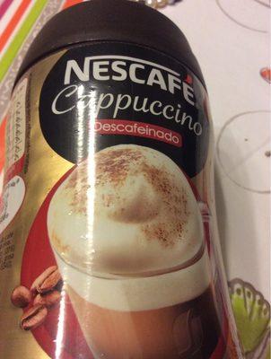 Gold cappuccino café soluble descafeinado - Produit