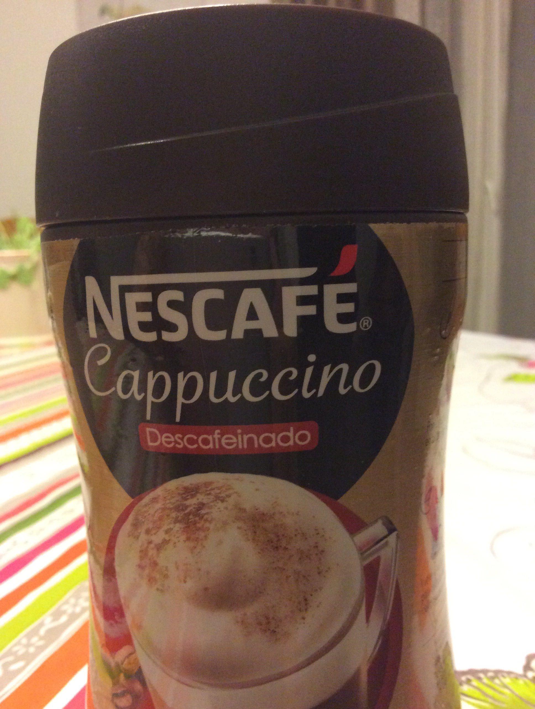 Gold cappuccino café soluble descafeinado - Ingrédients