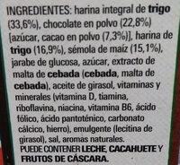 Chocapic Original - Ingredients - es