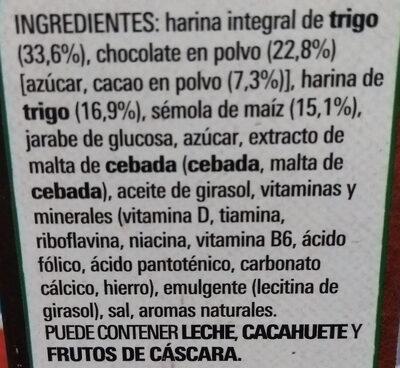 Chocapic original - Ingrediënten - es