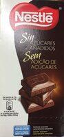 Chocolate Nestlé Negro Sin Azúcar - Producte