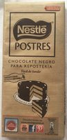 Chocolate negro para repostería - Product