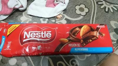 Chocolate con leche extrafino pasión de almendras - 1