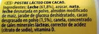 Nesquik Petit - Ingredients - es