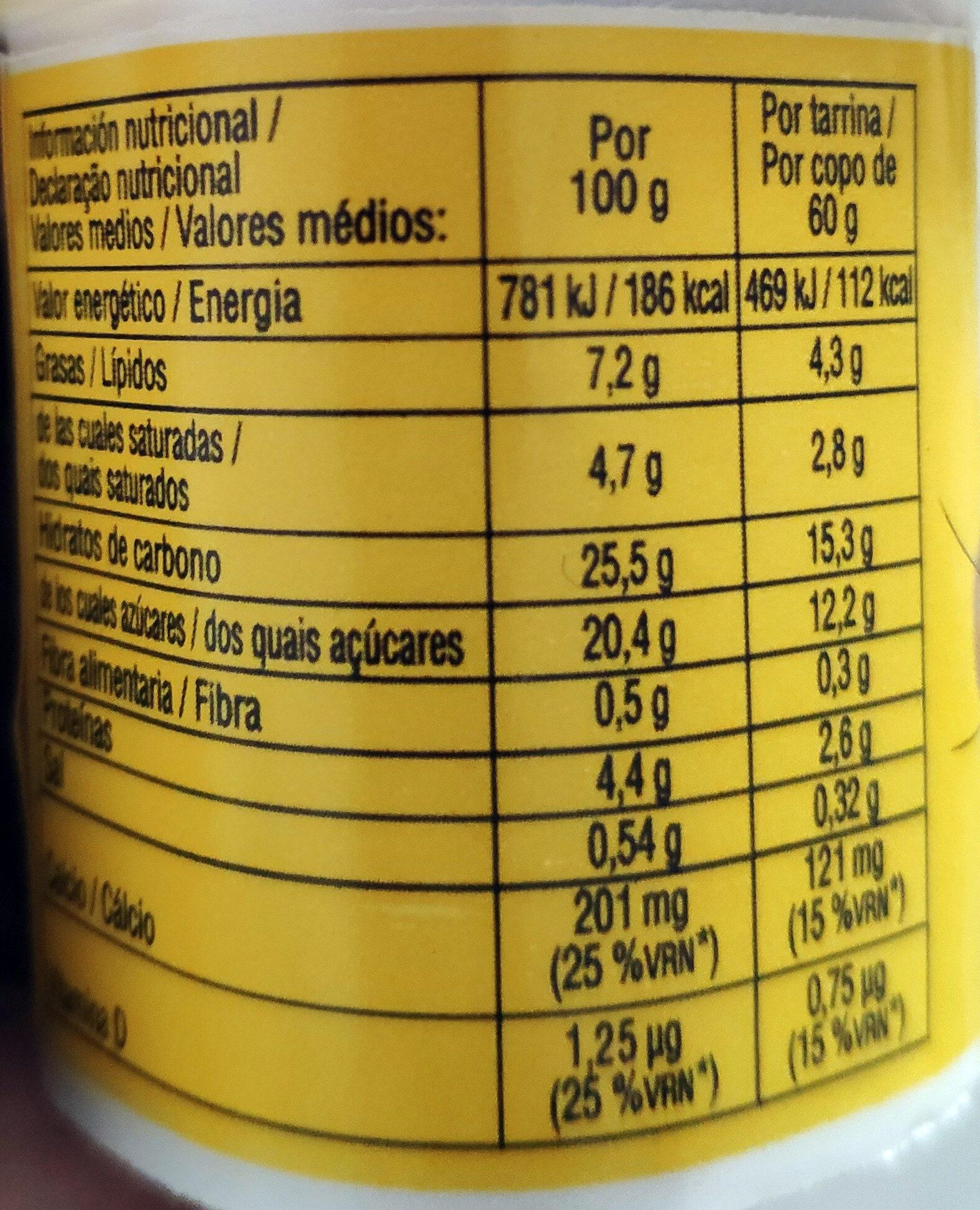 Nesquik Petit - Nutrition facts - es