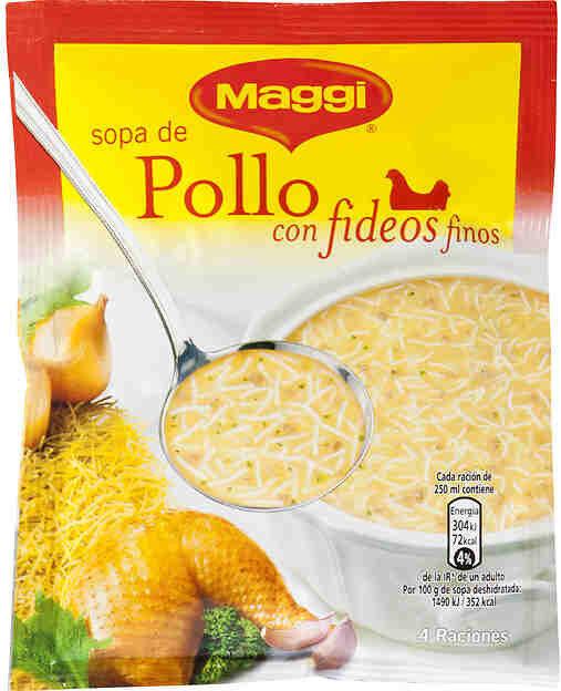 Sopa De Pollo Con Fideos Deshidratada - Product - fr