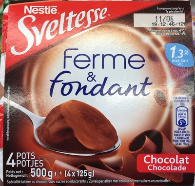 Ferme & Fondant Chocolat - Produit