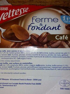 Ferme et fondant - Prodotto - fr