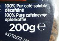 Nescafe decaf - Ingredients - fr