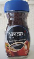 Nescafe decaf - Nutrition facts - fr