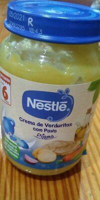 """Tarrito """"Pijama"""" crema de verduritas con pavo - Producto"""