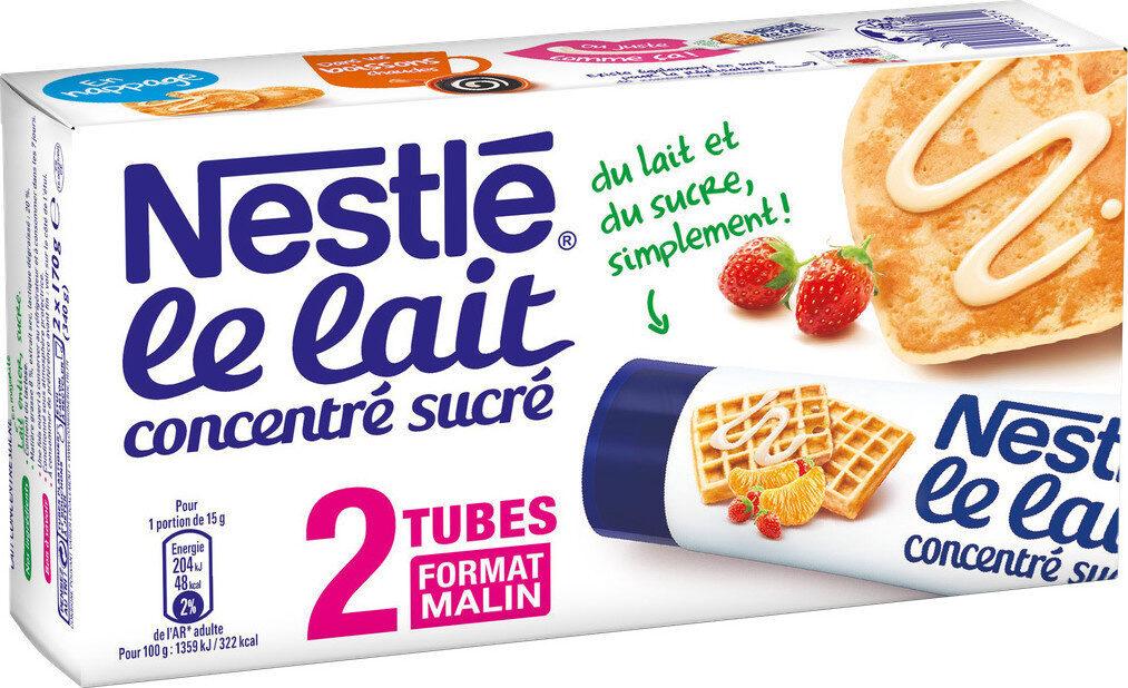 NESTLE Lait Concentré Sucré lait entier 2 tubes de 170g - Prodotto - fr