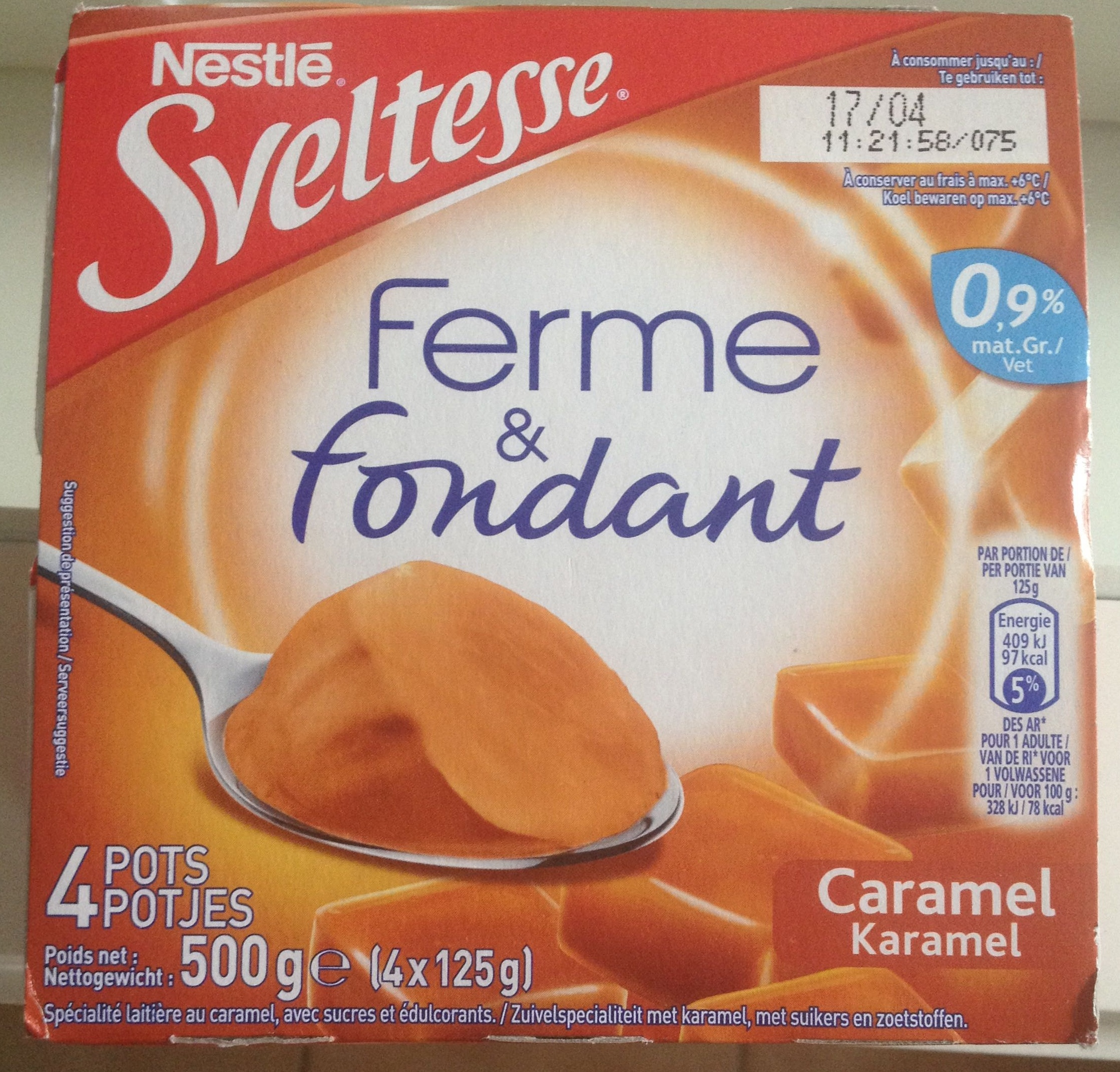 Ferme et fondant caramel - Produit - fr
