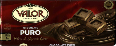 Chocolate Valor Puro - Producte
