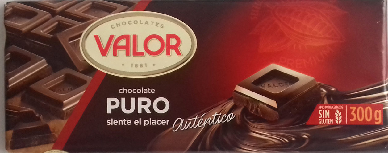Chocolate puro 52% cacao - Product - es