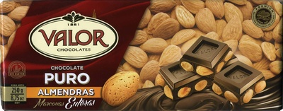 Chocolate puro con almendras - Product - es