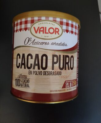 Cacao puro 0% - 10